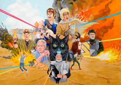 Bill Main - Laser Cats