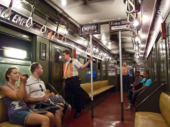 Boardwalk Empire Vintage Subway Train