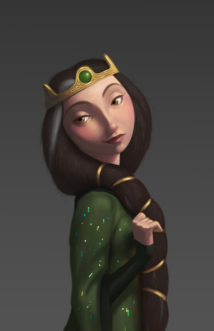 Brave - Queen Elinor Portrait