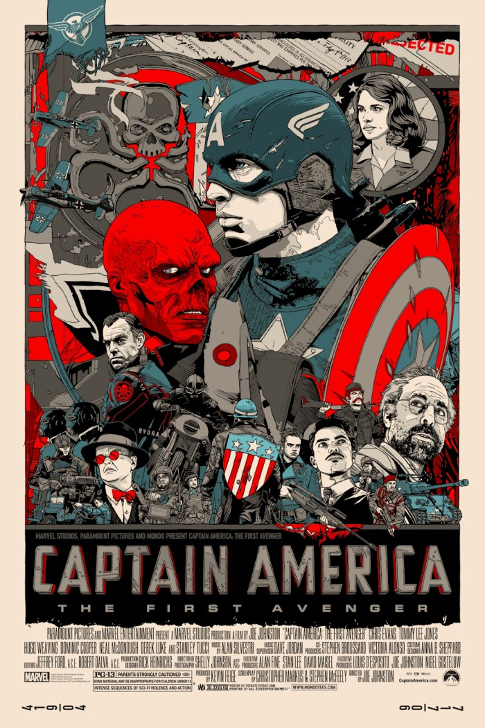CAPTAIN AMERICA - Tyler Stout