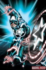 Captain America Tron Variant