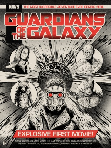 Chris Skinner - Guardians Galaxy