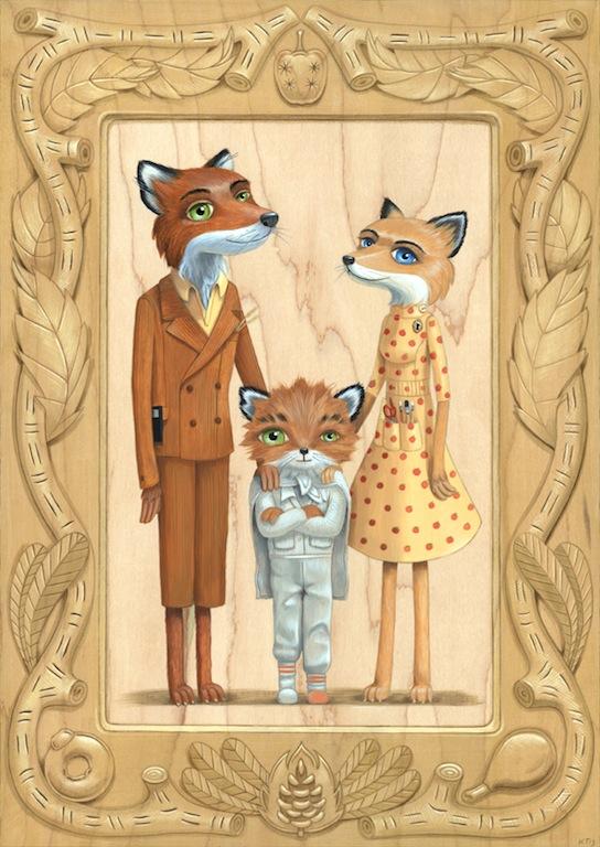 Cuddly Rigormortis - Fantatsic Mr Fox