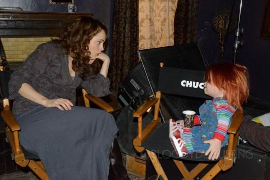 Curse of Chucky - Fiona Dourif and Chucky