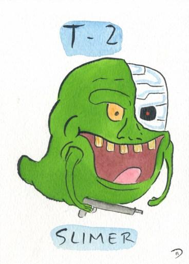 Dan Goodsell - Ghostbusters t2terminator