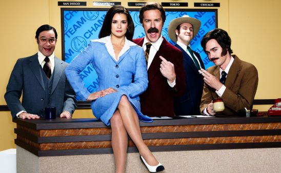 Danica Patrick in Anchorman