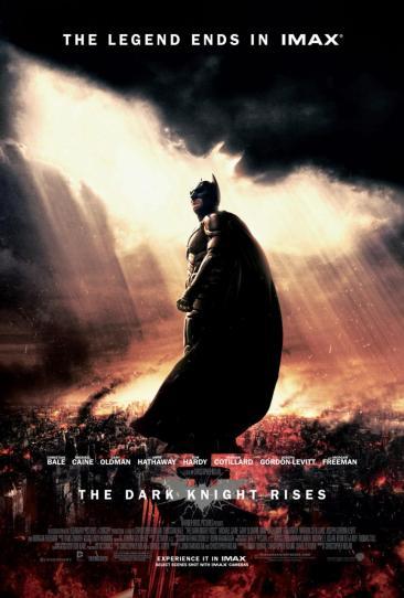 Dark Knight Rises IMAX Poster