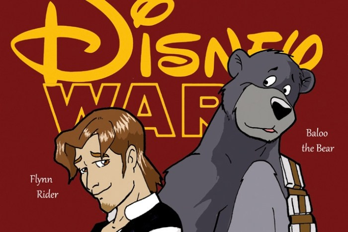 Disney Wars Han Rider and Baloo the Wookie (header)