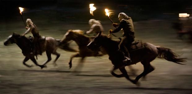 Django Unchained horses