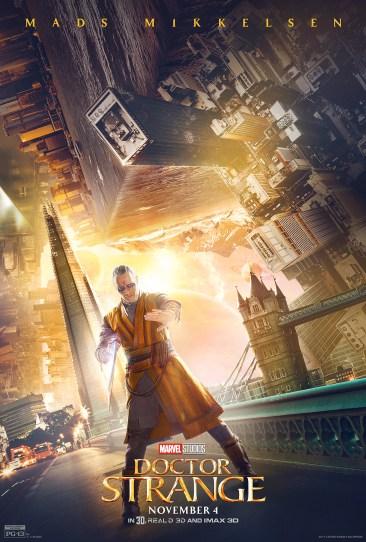 Doctor Strange character poster Kaecilius