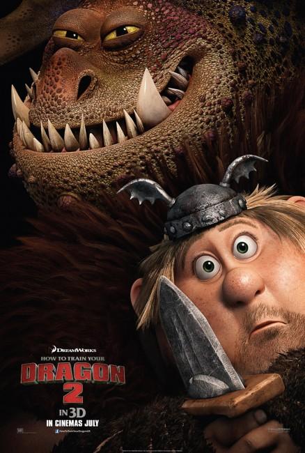 Dragon 2 Fishlegs poster