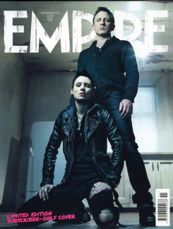 Empire Magazine - The Girl with the Dragon Tattoo 1