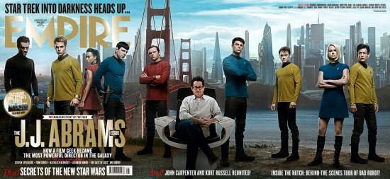 Empire Star Trek Into Darkness cover
