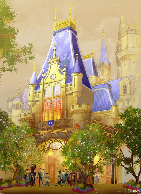 Enchanted Storybook Castle - exterior