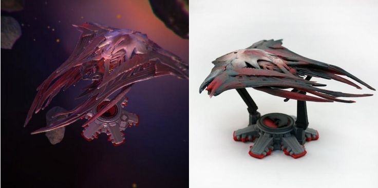 Enders Game 3D Mothership