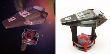 Enders Game 3D Shuttle