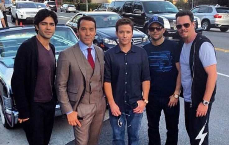 entourage set photos