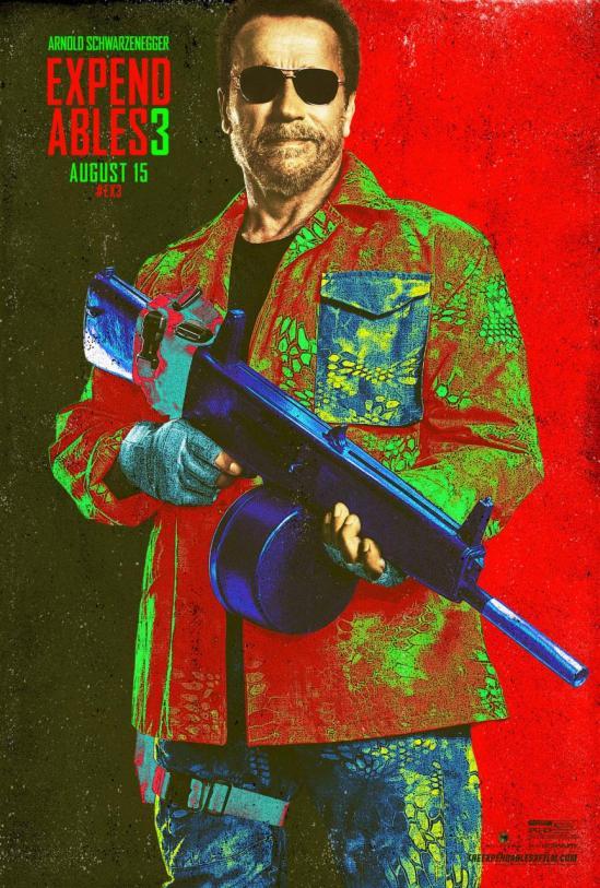 Expendables 3 - Arnold Schwarzenegger