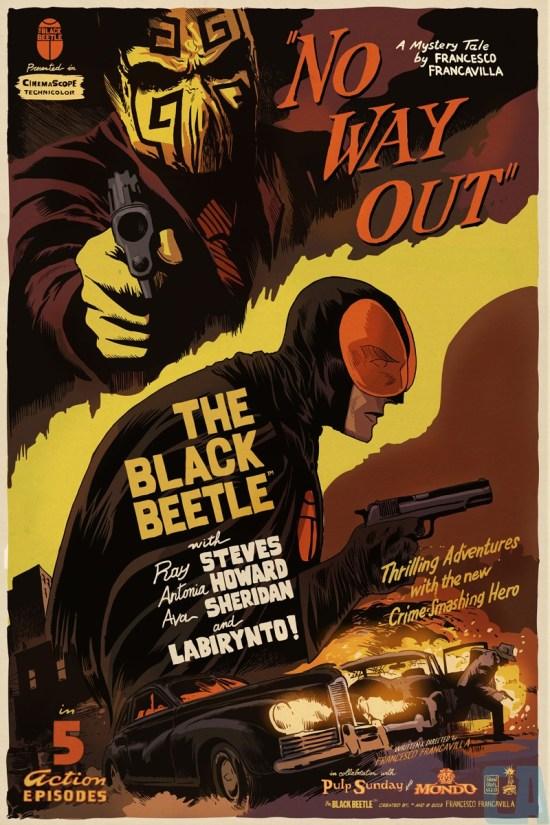 Francesco Francavilla - Black Beetle