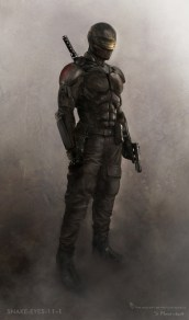 GI Joe Retaliation concept art - Snake Eyes