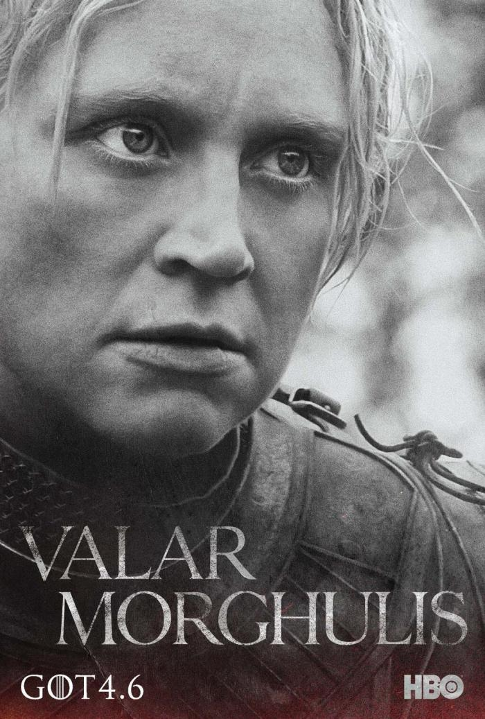 Game of Thrones Season 4 - Gwendoline Christie as Brienne of Tarth
