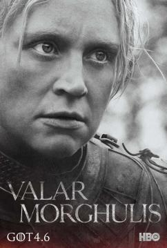 Game of Thrones Season 4 - Gwendoline Christie as Brienne of Tarth