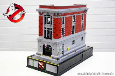 Ghostbusters HQ Lego 2