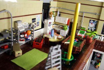 Ghostbusters HQ Lego 7