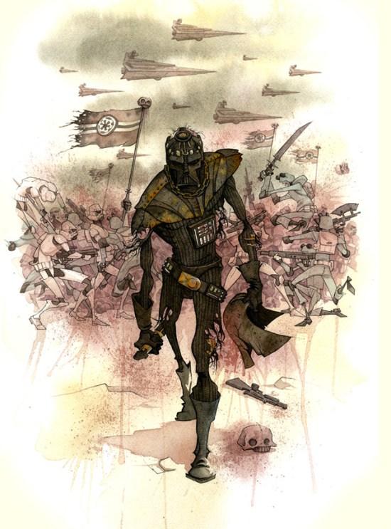 Gris Grimly - Vaders Helmet