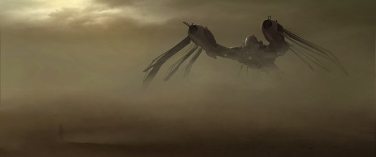John Carter concept art: HELIUM airship DUST FRONT