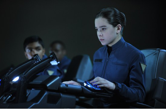Hailee Steinfeld as Petra Arkanian in Ender's Game