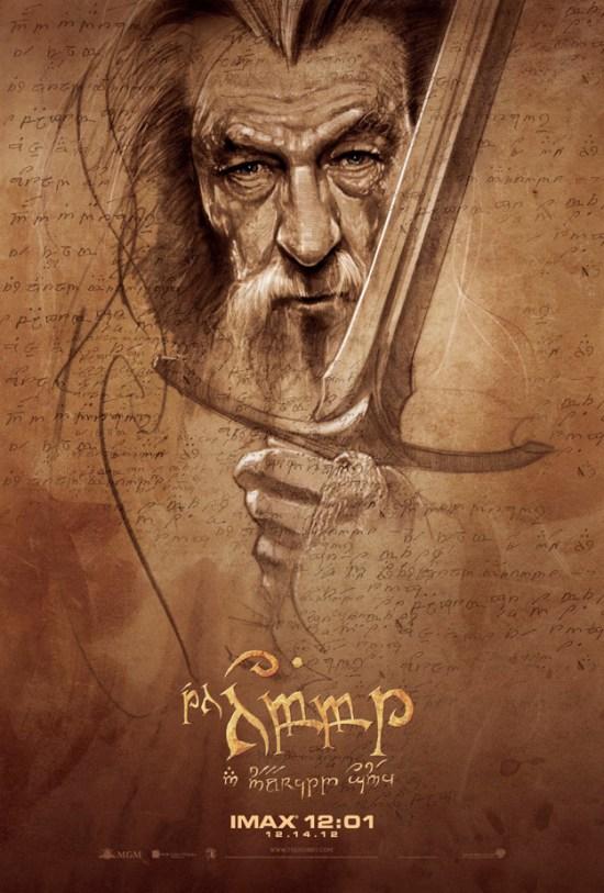 Hobbit IMAX Poster Gandalf