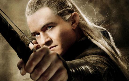 Hobbit Smaug Poster Legolas header
