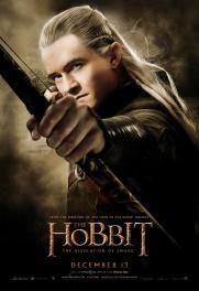 Hobbit Smaug Poster Legolas