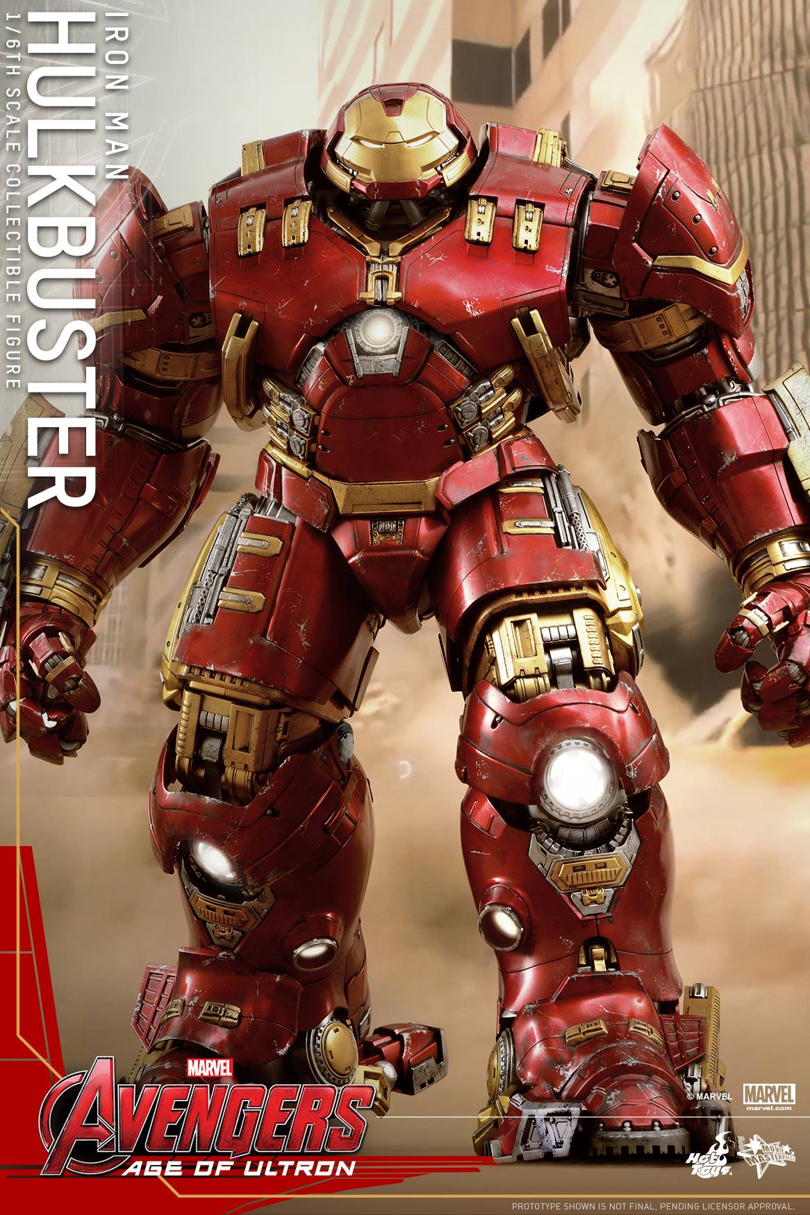 Hulk-Buster! Minecraft Skin