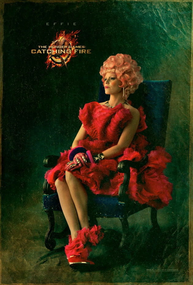 Hunger Games Catching Fire - Effie portrait