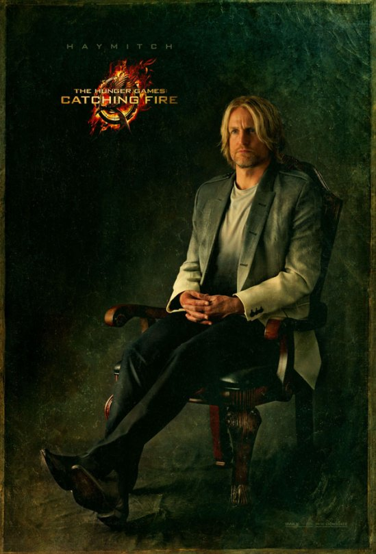 Hunger Games Catching Fire - Haymitch portrait
