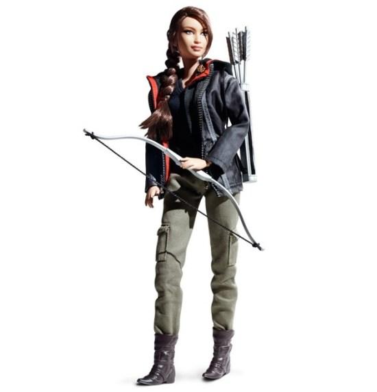 Hunger Games Katniss Barbie 4