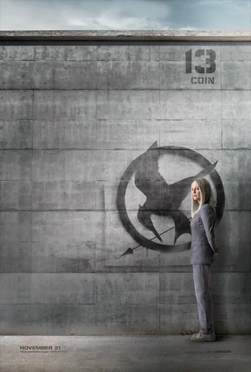 Hunger Games Mockingjay Coin Poster