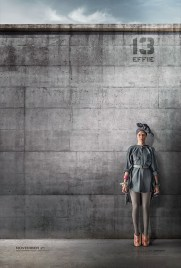 Hunger Games Mockingjay Effie Poster