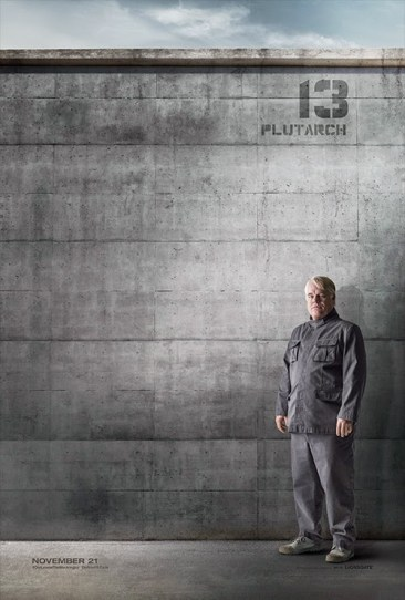 Hunger Games Mockingjay Plutarch Poster