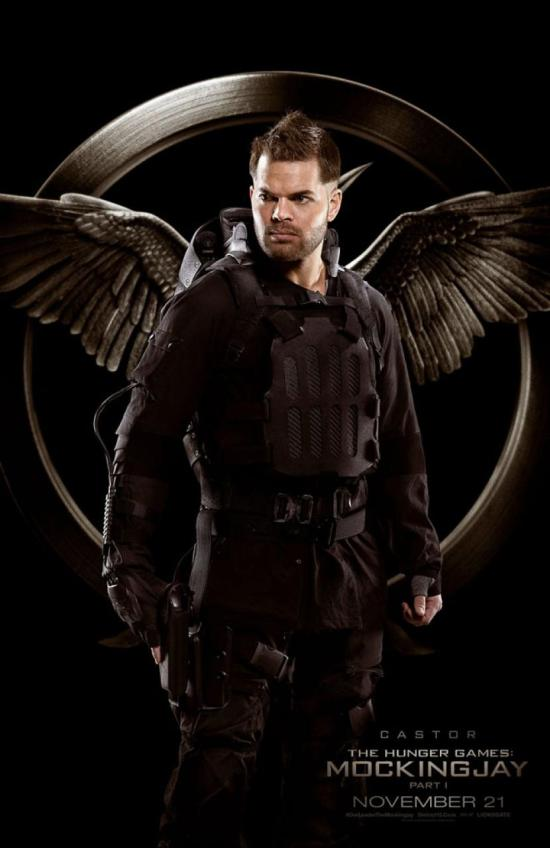 Hunger Games Mockingjay - Wes Chatham as Castor