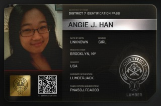 The Hunger Games - ID Card