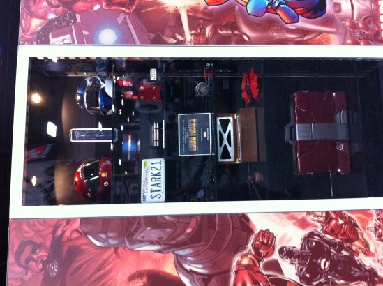 Comic-Con 2011: Iron Man 2 prop display