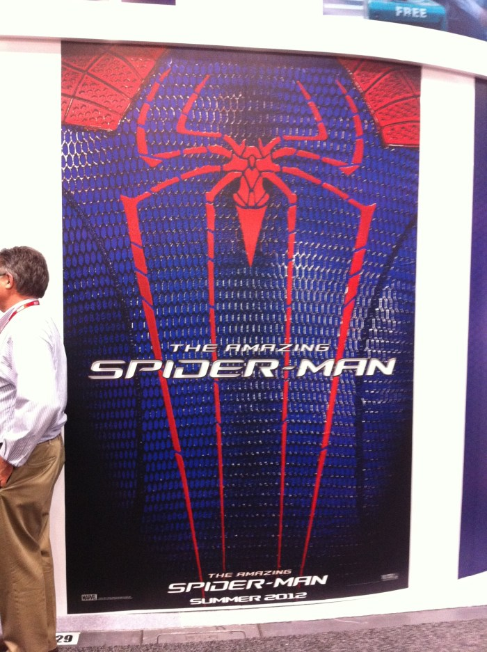 Comic-Con 2011: Spider-Man poster