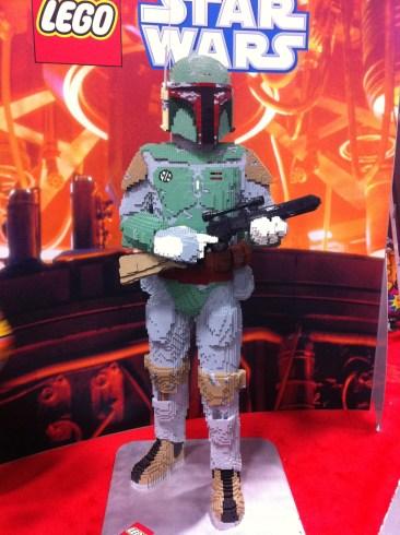 Comic-Con 2011: LEGO Boba Fett
