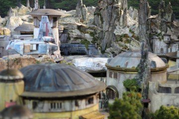 Star Wars Land Model
