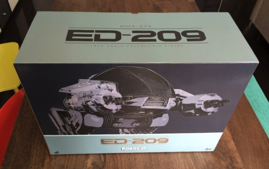 Hot Toys Robocop ED-209 Sixth Scale Figure boxed
