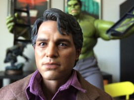 Hot Toys Bruce Banner head