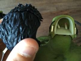 Hot Toys Hulk Sixth Scale figure eyes